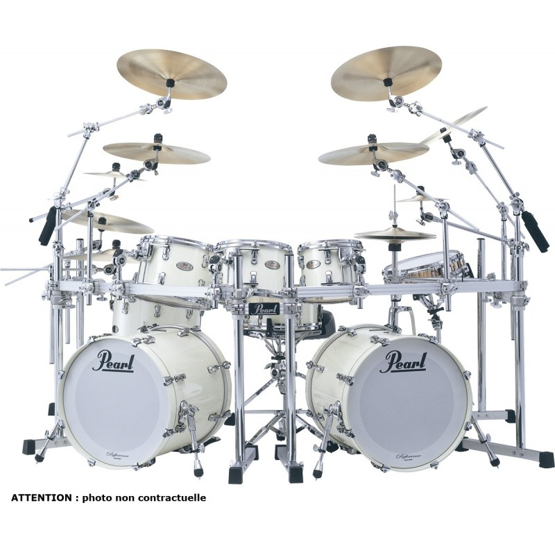 """PEARL REFERENCE Hyper Rock 22"""" Arctic White"""