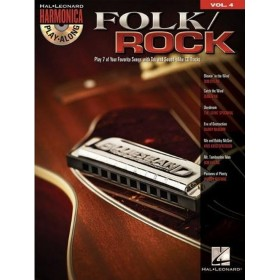 Harmonica Play Along Folk / Rock Volume 4 + CD