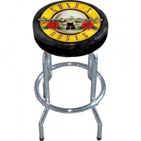 Tabouret de Bar Guns N Roses Logo