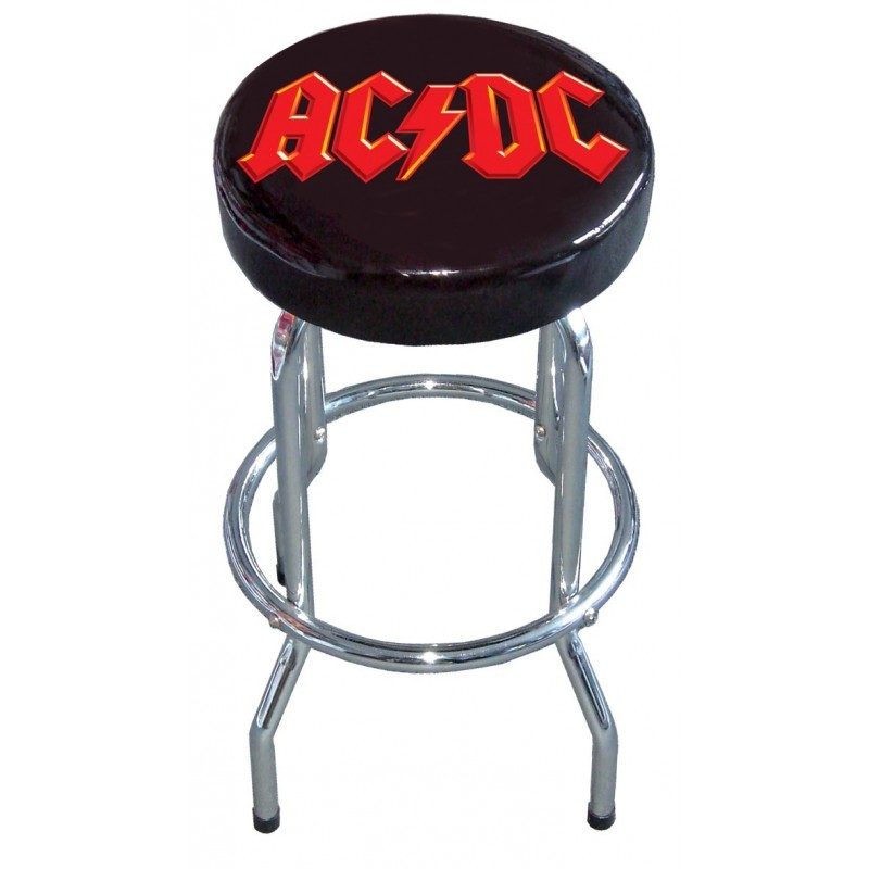 Tabouret BAR STOOL AC/DC Logo