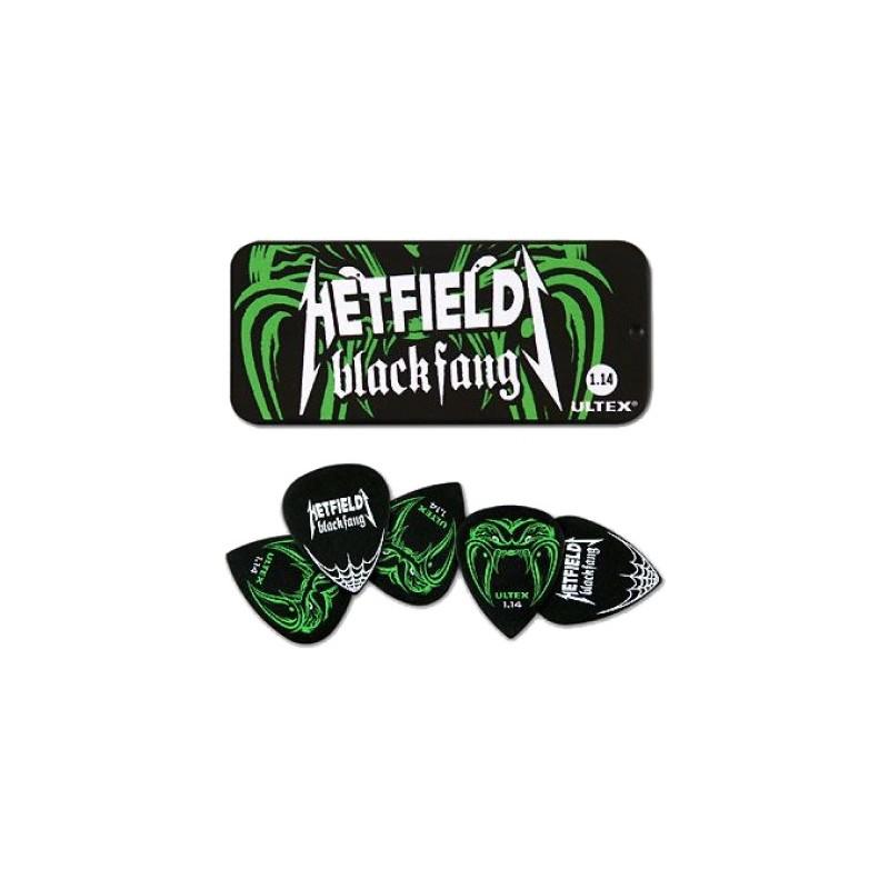 DUNLOP BOITE 6 MEDIATORS Metallica Hetfield Ultex Médium