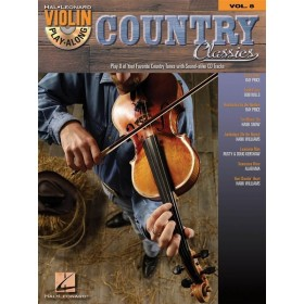 Violin Play Along Country Classics Volume 8 + CD