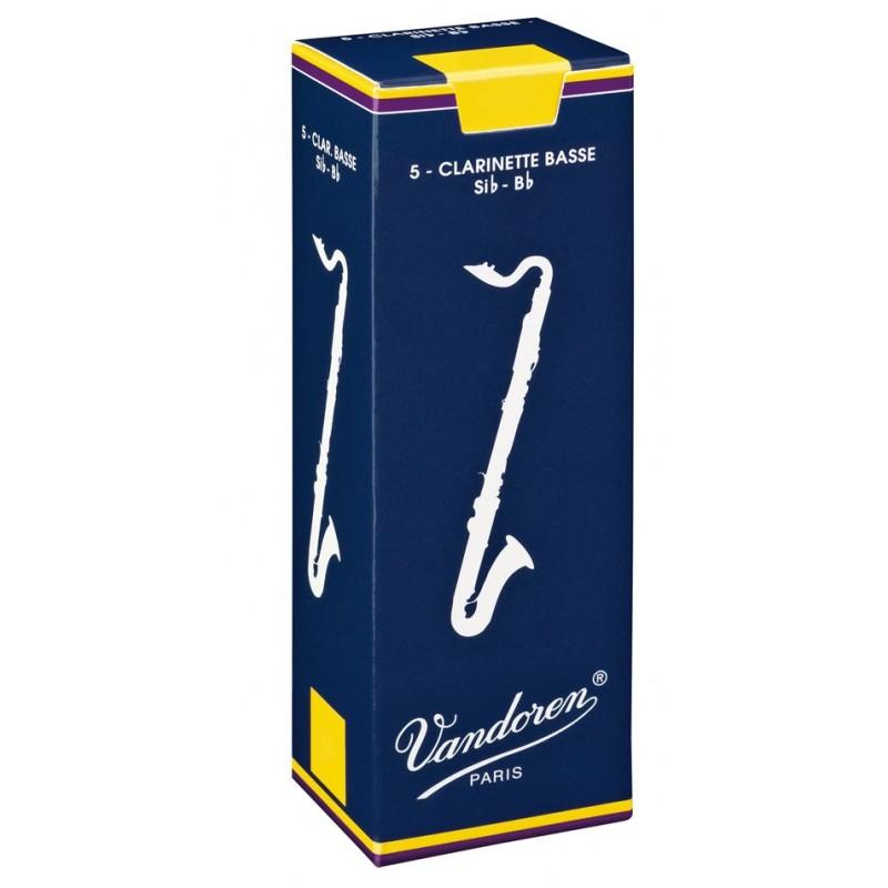 VANDOREN CR1235 Anches De Clarinette Basse 3,5