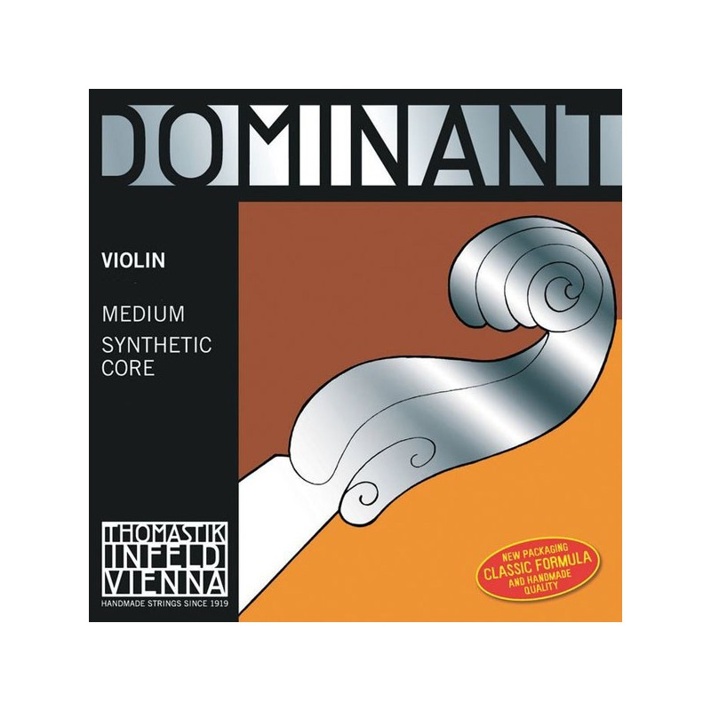 THOMASTIK DOMINANT 132 MEDIUM CORDE RE VIOLON 1/2