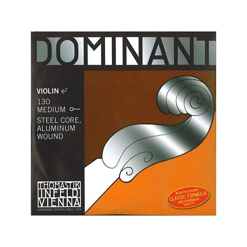 THOMASTIK DOMINANT 130 MEDIUM CORDE MI VIOLON 4/4