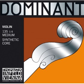 THOMASTIK DOMINANT MEDIUM JEU DE CORDES VIOLON 1/4
