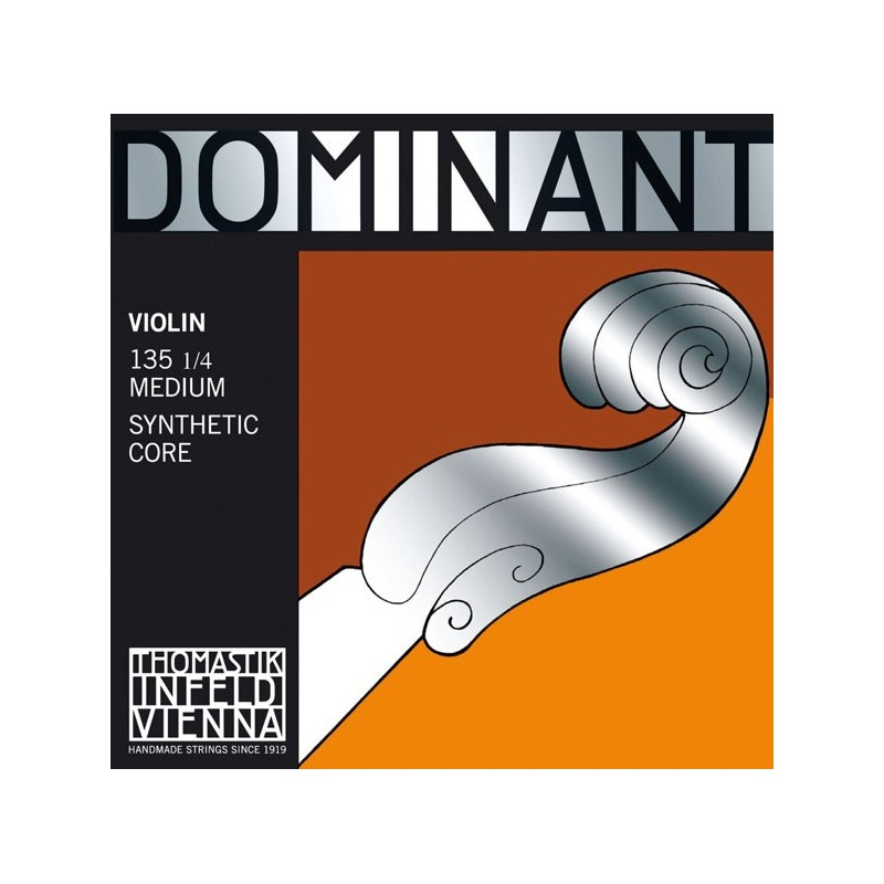 THOMASTIK DOMINANT 135 MEDIUM JEU DE CORDES VIOLON 1/4