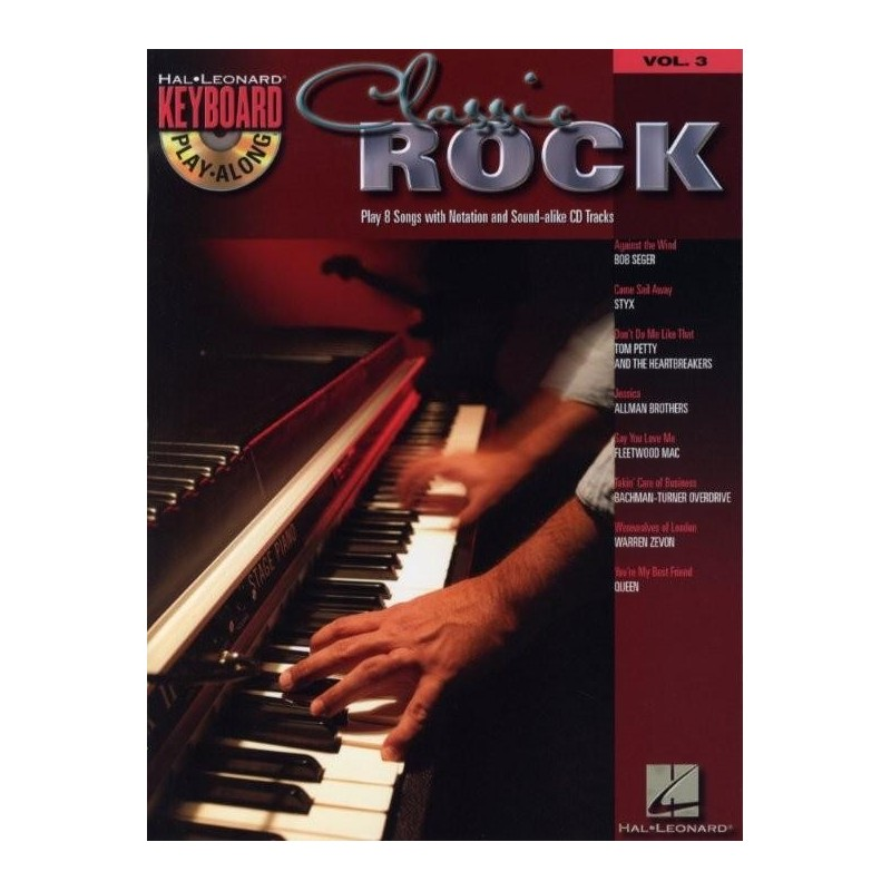 Keyboard Play Along Classic Rock Volume 3 + CD