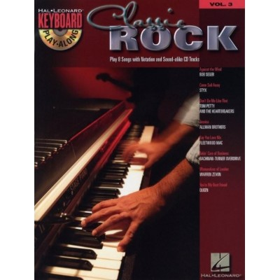 Keyboard Play Along Classic Rock Volume 3 + CD