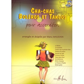 Chas-Chas Boléros et Tangos pour Accordéon + CD