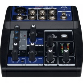 LOCATION Table de Mixage USB 3 Canaux WHARFEDALE PRO Connect 502