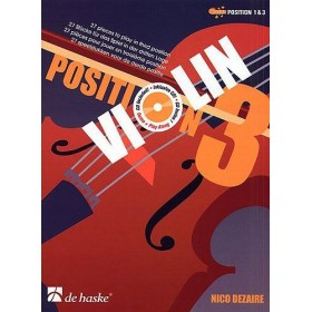 Violon Position 3 Pour Violon Nico Dezaire + CD