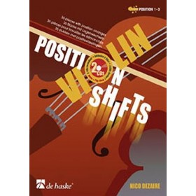 Violon Position Shifts Nico Dezaire + CD