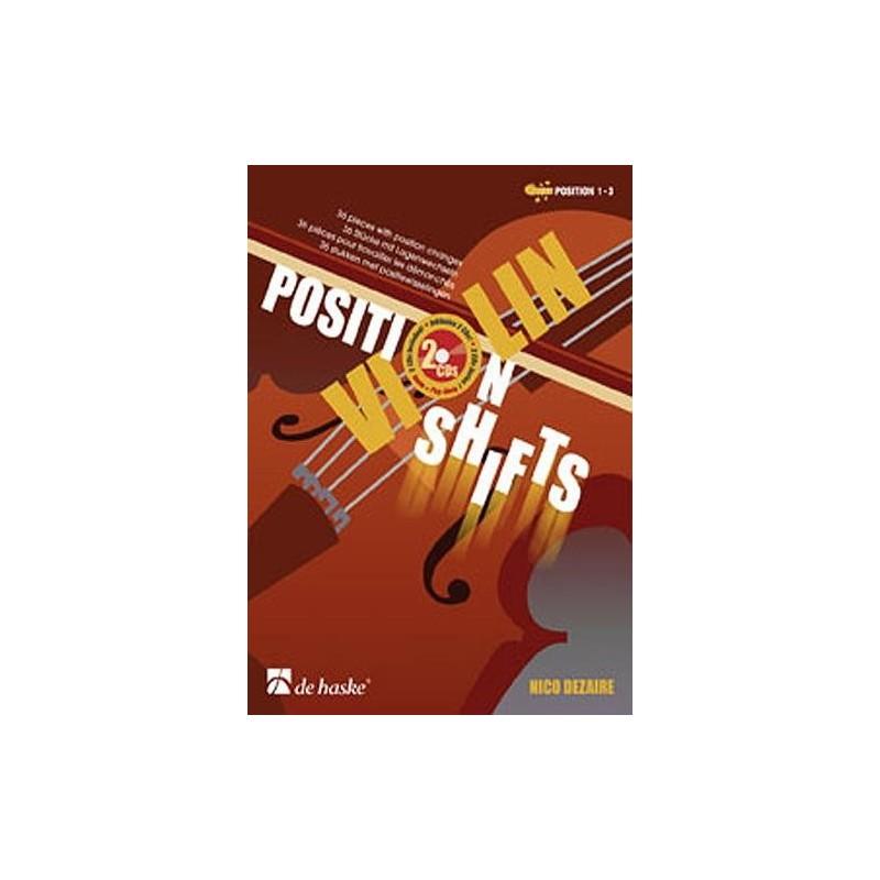 Violon Position Shifts Nico Dezaire + CD