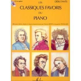Les Classiques Favoris du Piano Débutant