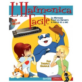 METHODE L'HARMONICA FACILE + CD