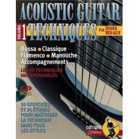 Méthode Acoustic Guitar Techniques Volume 1 + CD