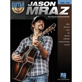 Guitar Play Along Jason Mraz Volume 178 + CD