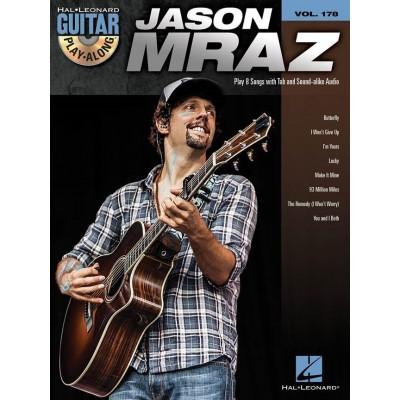 Guitar Play Along Jason Mraz Volume 178 + CD